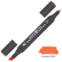 Brauberg 151802 Маркер для скетчинга двусторонний 1 мм - 6 мм BRAUBERG ART CLASSIC, КИНОВАРЬ (Y807), 151802