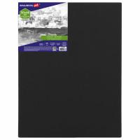 Brauberg 191652 Холст на подрамнике черный BRAUBERG ART CLASSIC, 50х60см, 380 г/м, хлопок, мелкое зерно, 191652