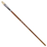 Brauberg 200732 Кисть художественная профессиональная BRAUBERG ART CLASSIC, щетина, овальная, № 12, длинная ручка, 200732