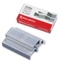 Brauberg 220949 Скобы для степлера №10, 1000 штук, BRAUBERG, до 20 листов, 220949