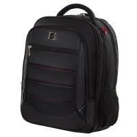 """Brauberg 224454 Рюкзак BRAUBERG """"Flagman"""", размер 46х35х25 см, 35 л, ткань, черно-красный, 224454"""