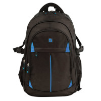 Brauberg 224734 Рюкзак BRAUBERG TITANIUM для старшеклассников/студентов/молодежи, синие вставки, 45х28х18 см, 224734