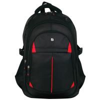 Brauberg 226376 Рюкзак BRAUBERG TITANIUM для старшеклассников/студентов/молодежи, красные вставки, 45х28х18 см, 226376
