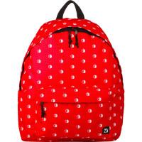 """Brauberg 226412 Рюкзак BRAUBERG универсальный, сити-формат, красный, """"Яблоки"""", 23 литра, 43х34х15 см, 226412"""