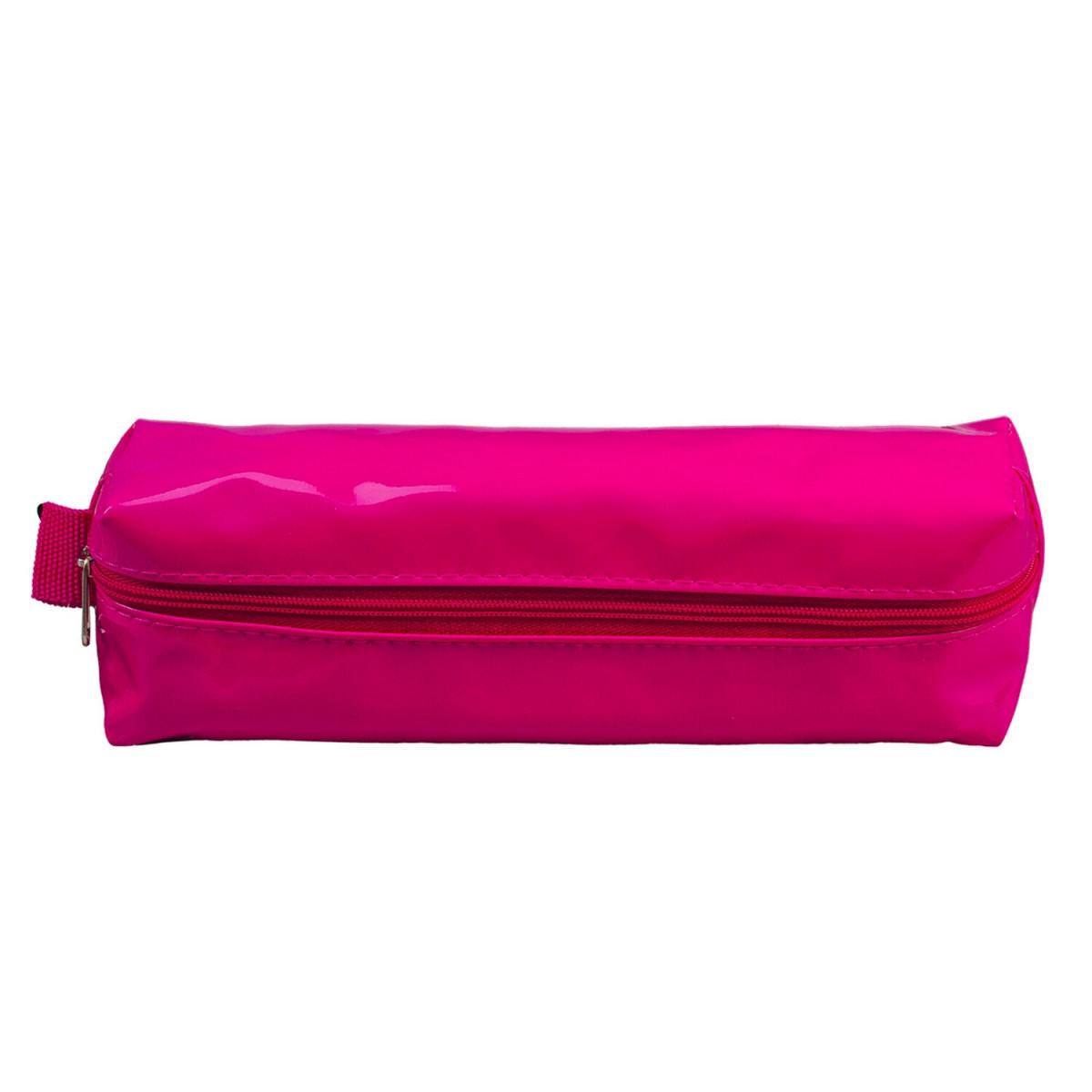 """Пенал-косметичка BRAUBERG под искусственную кожу, """"Блеск"""", розовый, 20х6х4 см, 226719 (арт. 226719)"""