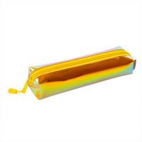 "Brauberg 229249 Пенал-косметичка BRAUBERG прямоугольный, зеркальный, мягкий, ""Gold"", 21х5х5 см, 229249"