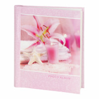 "Brauberg 390682 Фотоальбом BRAUBERG на 10 магнитных листов, 23х28 см, ""На память"", розовый, 390682"