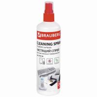 Brauberg 510118 Чистящая жидкость-спрей BRAUBERG для любых пластиковых поверхностей, 250 мл, 510118