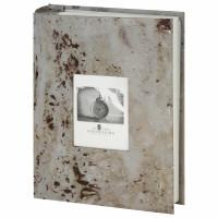 "Brauberg  Фотоальбом BRAUBERG ""Голубой мрамор"" на 200 фото 10х15 см, твердая обложка, переплет, бокс, 391176"
