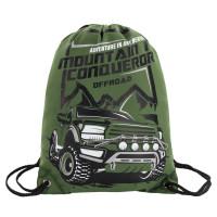 Brauberg  Сумка для обуви BRAUBERG PREMIUM, карман, подкладка, светоотражающие элементы, 43х33 см, Mountain conqueror, 270286