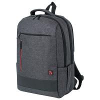Brauberg  Рюкзак BRAUBERG URBAN универсальный, с отделением для ноутбука, Houston, темно-серый, 45х31х15 см, 229895