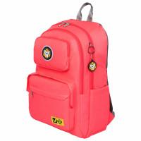 Brauberg  Рюкзак BRAUBERG LIGHT молодежный, с отделением для ноутбука, нагрудный ремешок, неон-розовый, 47х31х13 см, 270298