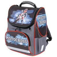 "Brauberg  Ранец BRAUBERG STYLE c эргономичной спинкой, ""Motocross"", 35х28х18 см, 229925"