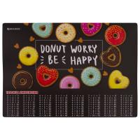 "Brauberg  Настольное покрытие BRAUBERG, А3+, пластик, 46x33 см, ""Donut"", 270399"