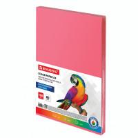 Brauberg  Бумага цветная BRAUBERG, А4, 80 г/м2, 100 л., интенсив, красная, для офисной техники, 112449