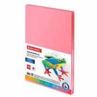 Brauberg  Бумага цветная BRAUBERG, А4, 80 г/м2, 100 л., медиум, розовая, для офисной техники, 112455