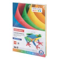 Brauberg  Бумага цветная BRAUBERG, А4, 80 г/м2, 100 л., (5 цветов х 20 л.), медиум, для офисной техники, 112462