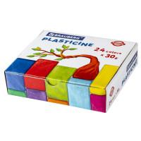 Brauberg  Пластилин классический BRAUBERG PREMIUM, 24 цвета, 720 г, ВЫСШЕЕ КАЧЕСТВО, 105869