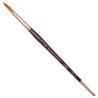 KOH-I-NOOR 9935010010BL Кисть художественная KOH-I-NOOR колонок, круглая, №10, короткая ручка, блистер, 9935010010BL
