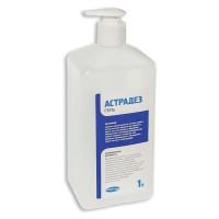 БРИЛЛИАНТ  Антисептик-гель для рук спиртосодержащий (60%) с дозатором 1л АСТРАДЕЗ ГЕЛЬ, дезинфицирующий