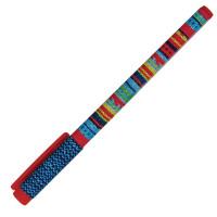 "BRUNO VISCONTI 20-0212/18 Ручка шариковая BRUNO VISCONTI ""FunWrite"", СИНЯЯ, ""Модный свитер"", узел 0,5 мм, линия письма 0,3 мм, 20-0212/18"
