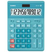 CASIO GR-12C-LB-W-EP Калькулятор настольный CASIO GR-12С-LB (210х155 мм), 12 разрядов, двойное питание, ГОЛУБОЙ, GR-12C-LB-W-EP