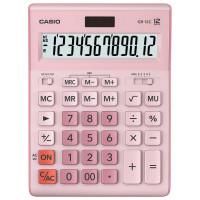 CASIO GR-12C-PK-W-EP Калькулятор настольный CASIO GR-12С-PK (210х155 мм), 12 разрядов, двойное питание, РОЗОВЫЙ, GR-12C-PK-W-EP
