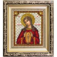 Чаривна Мить 014 Набор для вышивания «Чарівна Мить» БЮ-014 Икона Богородицы Помощница в родах
