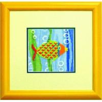 Чаривна Мить 058 Набор для вышивания «Чарівна Мить» А-058 Рыбка