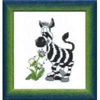 Чаривна Мить 558 Зебра Чарiвна Мить Набор для вышивания «Чарiвна Мить» 558 Зебра