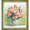 Чаривна Мить Б-761 Кремовые розы