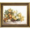 Чаривна Мить М-199 Жёлтые хризантемы