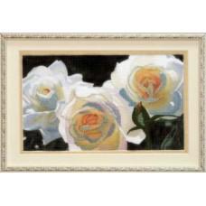 Набор для вышивания РК-035 Белые розы