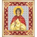 Чаривна Мить СБИ-095 Именная икона святая мученица Агния. Схема для вышивания бисером