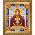 Чаривна Мить СБИ-1005 Икона Божьей Матери Неупиваемая Чаша. Схема для вышивания бисером