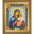 Чаривна Мить СБИ-1006 Икона Божьей Матери Неувядаемый Цвет. Схема для вышивания бисером