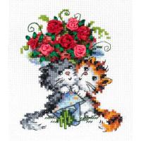 Чудесная игла 00000062039 Набор для вышивания «Чудесная игла» 80-09 Взаимная любовь!