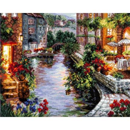 Набор для вышивания 00000062047 Набор для вышивания «Чудесная игла» 46-02 Вечер в Венеции