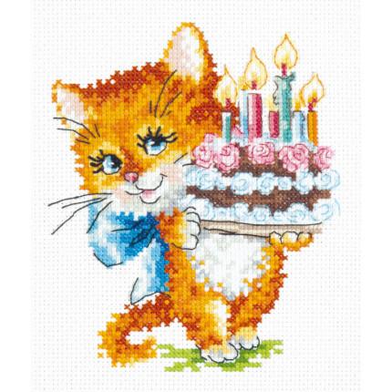 Набор для вышивания 00000075869 Набор для вышивания «Чудесная игла» 15-18 И счастья в личной жизни !