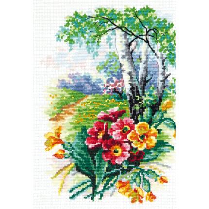 Набор для вышивания 00000075876 Набор для вышивания «Чудесная игла» 43-11 Цветущий май