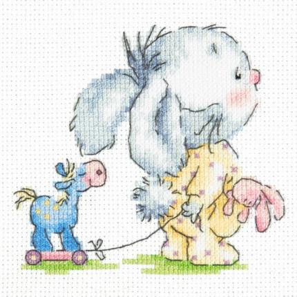 Набор для вышивания 00000078861 Набор для вышивания «Чудесная игла» 19-09 Пошли со мной!