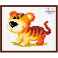 Чудесная игла 10-29 Набор для вышивания «Чудесная игла» 10-29 Тигрёнок