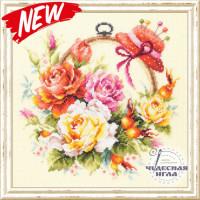 Чудесная игла 100-122 Розы для мастерицы