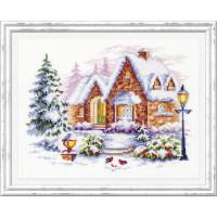 Чудесная игла 110-041 Зимний домик
