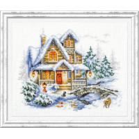 Чудесная игла 110-042 Зимний коттедж
