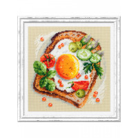 Чудесная игла 120-092 Тост с яичницей
