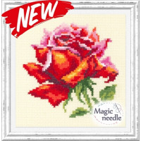 Чудесная игла 150-003 Красная роза