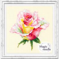 Чудесная игла 150-004 Нежная  роза