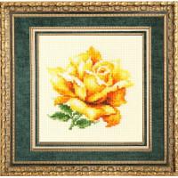 Чудесная игла 150-005 Желтая роза