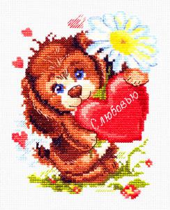 Набор для вышивания 16-12 С любовью Набор для вышивания «Чудесная игла» 16-12 С любовью